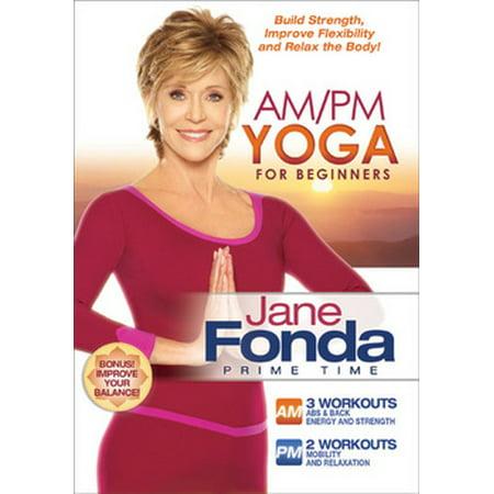Jane Fonda Am / Pm Yoga for Beginners (DVD)
