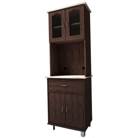 Hodedah Imports HIK94 Kitchen Cabinet - Walmart.com