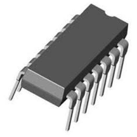 7433N Integrated Circuits QUAD 2-Input NOR Buffer 14 Pin DIP (1 piece) - 7433N