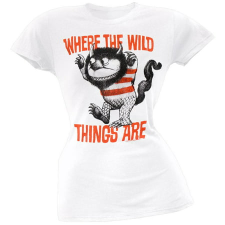 Where The Wild Things Are - Monster Juniors T-Shirt (Where Are All T)