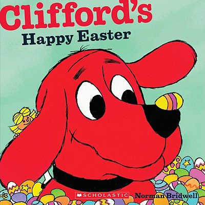 Clifford's Happy Easter (Dollar Eraser)