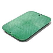 NDS 117C 13 x 20 in. Jumbo Valve Box Cover, Green