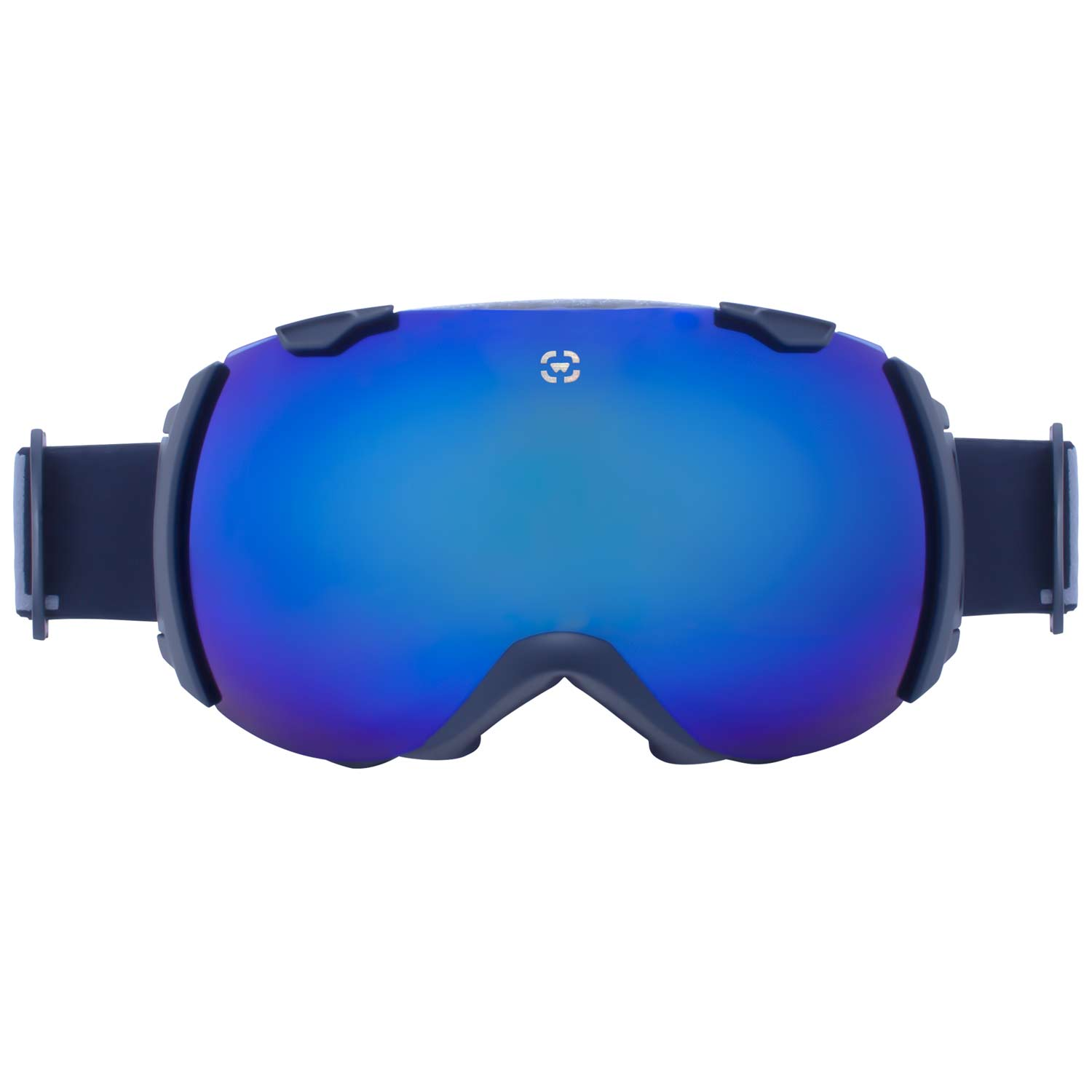 Winterial Globe Goggles | Ski | Snowboard |Snowmobile Goggles All Mountain | UV Protection | Black by Winterial