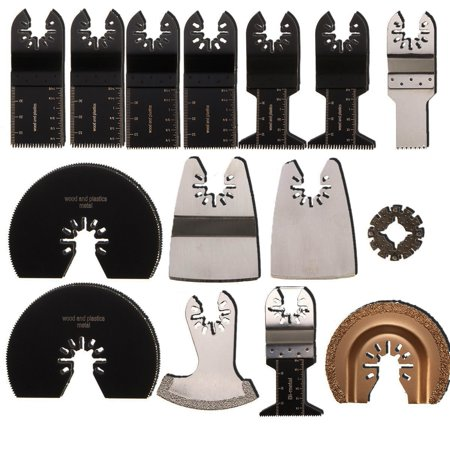 15 Pc Blade Kit fits ROCKWELL SONICRAFTER WORX Oscillating