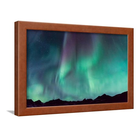 Northern Lights Framed Print Wall Art By JCB5754
