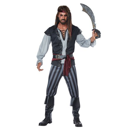 Scallywag Pirate Men's Adult - Mens Pirate Coat