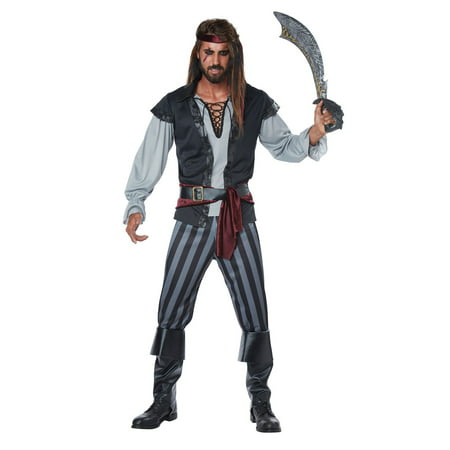 Scallywag Pirate Men's Adult Costume - Kids Pirate Costume Ideas
