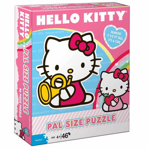 Hello Kitty Pal Size Puzzle by Pressman Toy