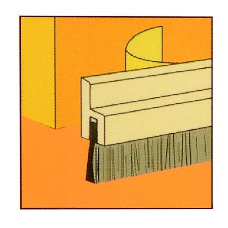 """Coussinets autoadhésifs en fond porte en bois avec balayage 0.8"""" x 40"""" brosse 1.8"""" - image 5 de 8"""