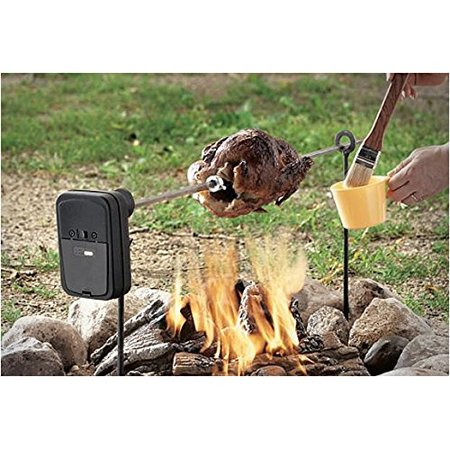 Fire Magic Heavy Duty Rotisserie (Grizzly Spit Campfire Rotisserie System for Grills & Fire Pits )