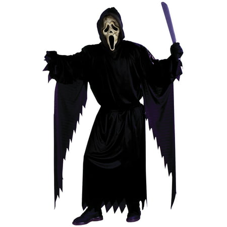 Zombie Ghost Face Teen Halloween Costume - Zombie Halloween Costumes Uk