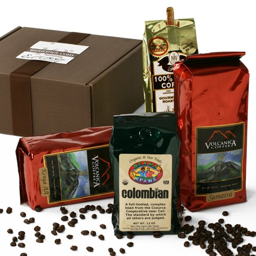 Great Coffees of the World Gift Box