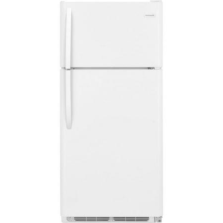 Frigidare Fftr1814tw White 18 Cu Ft Top Freezer Refrigerator