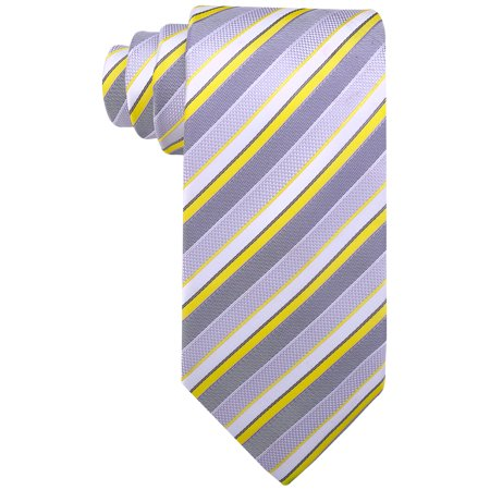 Scott Allan Striped Necktie - Mens Ties in Various (Mens Striped Woven Tie)