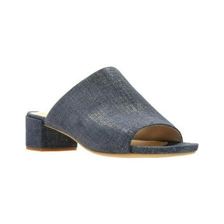 Clarks Suede Sandals (Clarks Orabella Daisy Women's Suede Block Heel Sandals 38888)