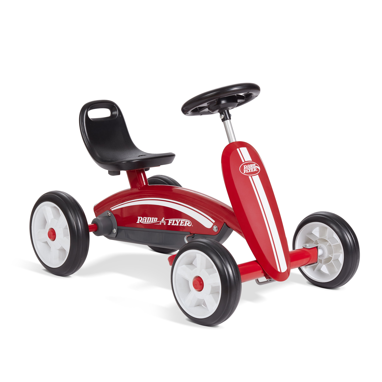 Radio Flyer, Pedal Racer, Pedal Go Kart, Red