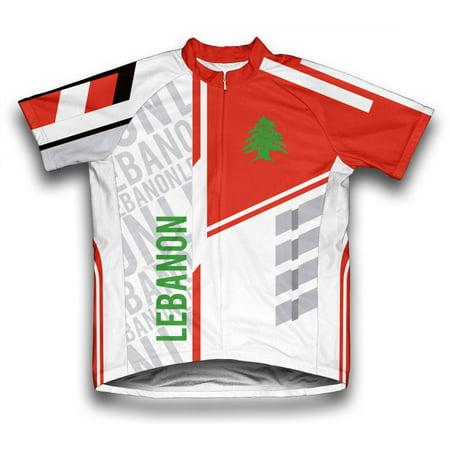 Lebanon ScudoPro Short Sleeve Cycling Jersey  for Men - Size - Tom And Jerry For Kids