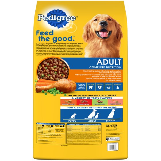 Pedigree Complete Nutrition Adult Dry Dog Food Roasted Chicken Rice