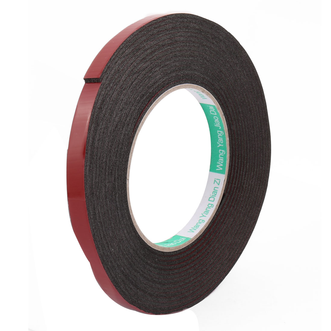 10mmx2mm Red Double Sided Sponge Tape Adhesive Sticker Foam Glue Strip 5M Length