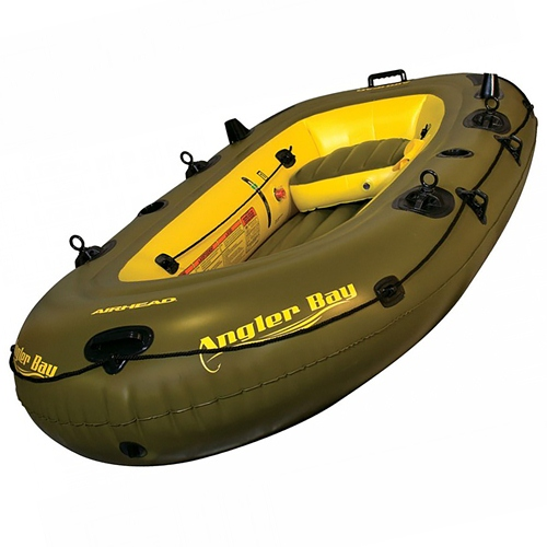 Airhead Angler Bay Inflatable Boat, 4-Person