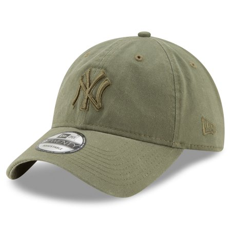 New York Yankees New Era Tonal Bark Core Classic 9TWENTY Adjustable Hat - Green - OSFA
