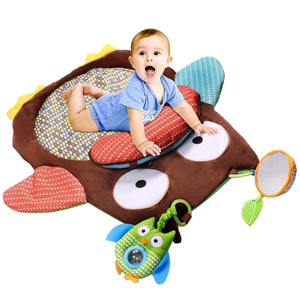 Sanwood Cute Cartoon Owl Baby Infant Tummy Time Crawling ...