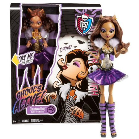 Clawdeen Wolf: Daughter of The Werewolf ~10.5