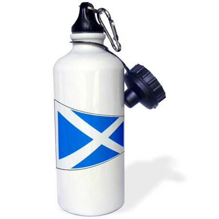 3dRose image of Scotland flag in contemporary style, Sports Water Bottle, 21oz