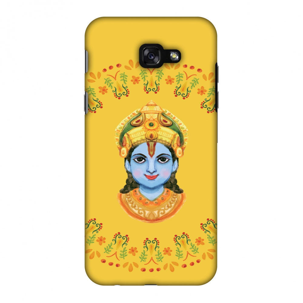 Samsung Galaxy A7 2017 Case, Premium Handcrafted Printed Designer Hard ShockProof Case Back Cover for Samsung Galaxy A7 2017 - Almighty Krishna 3