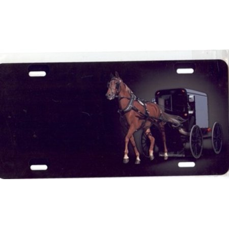 Horse And Carriage License Plate Free Personalization On This Plate