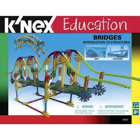 Knex Education  Intro To Structures   Bridges Building Set
