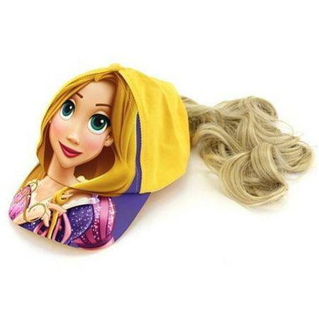 Disney - Tangled Rapunzel Girls Baseball Cap Hat with Ponytail - Walmart.com 07d55f6b7db