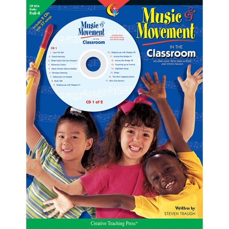 Creative Movement Music - Creative Teaching Press Fun Music and Movement Classroom Book with CD