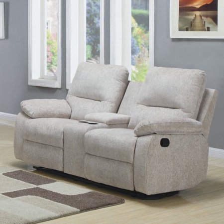 Homelegance Marianna Double Reclining Loveseat W Center
