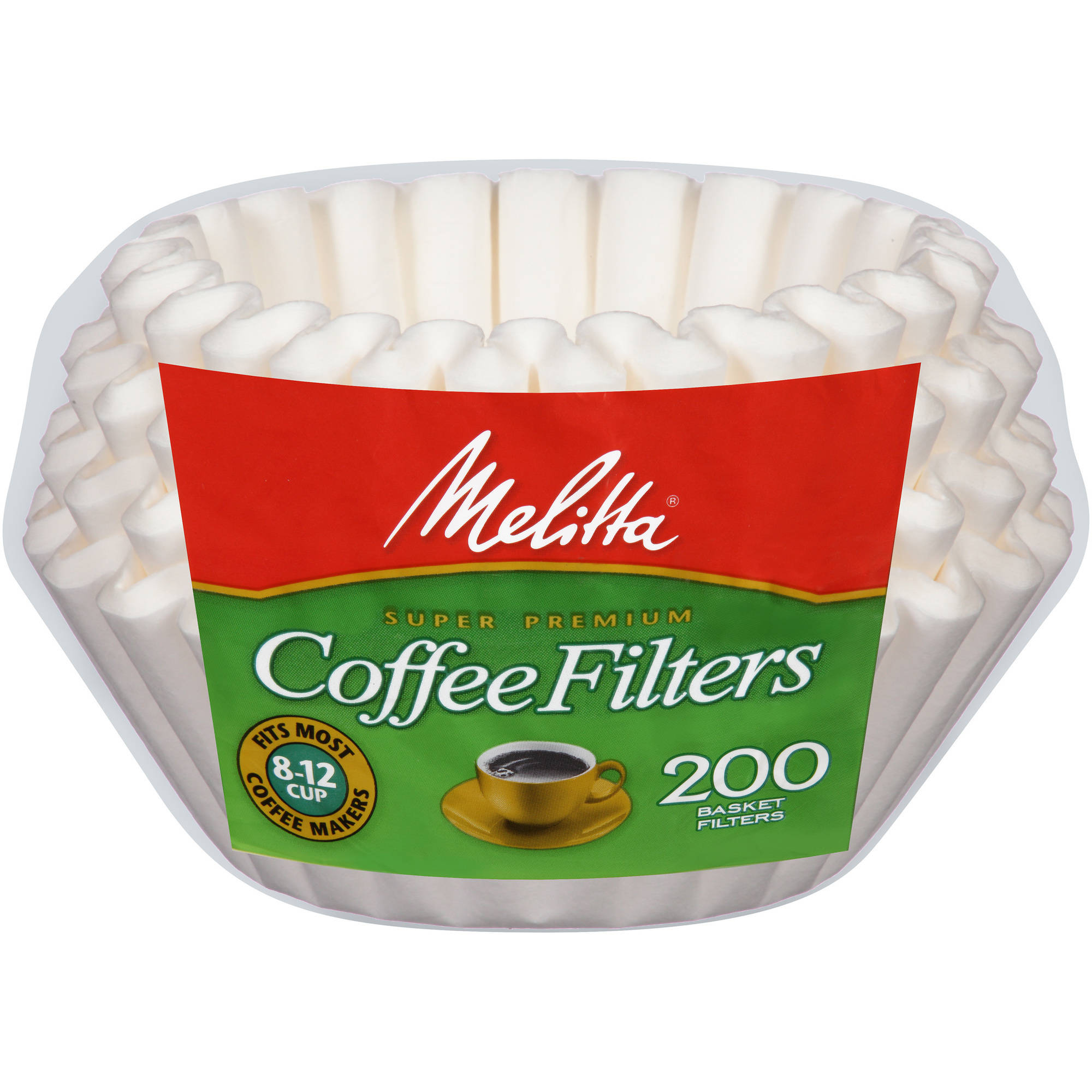 PAB200 White Basket Coffee Filter by Melitta USA Inc.