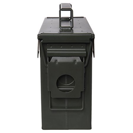 "Ivation Ammo Storage Box – Airtight & Waterproof Storage for .30 Caliber Ammunition – 10"" x 3.5"" 7.8"" - image 1 of 5"