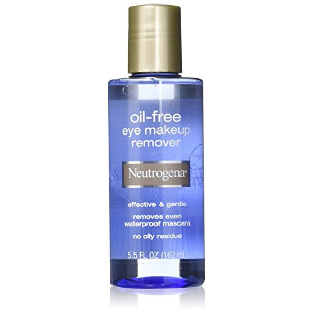 Neutrogena Oil Free Eye Makeup Remover 5 5 Fl Oz Walmart Com Walmart Com