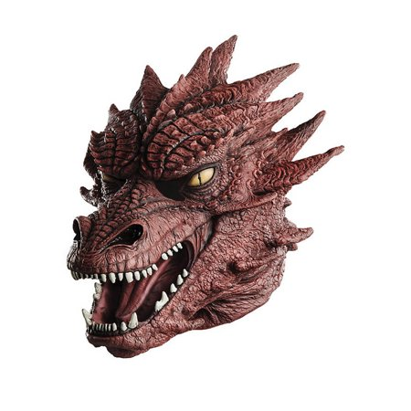 Lord of the Rings Smaug Masterpiece Costume Mask Adult One - Lord Farquaad Mask