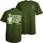 John Wayne Do What's Right Men's T-Shirt, XXX-Large
