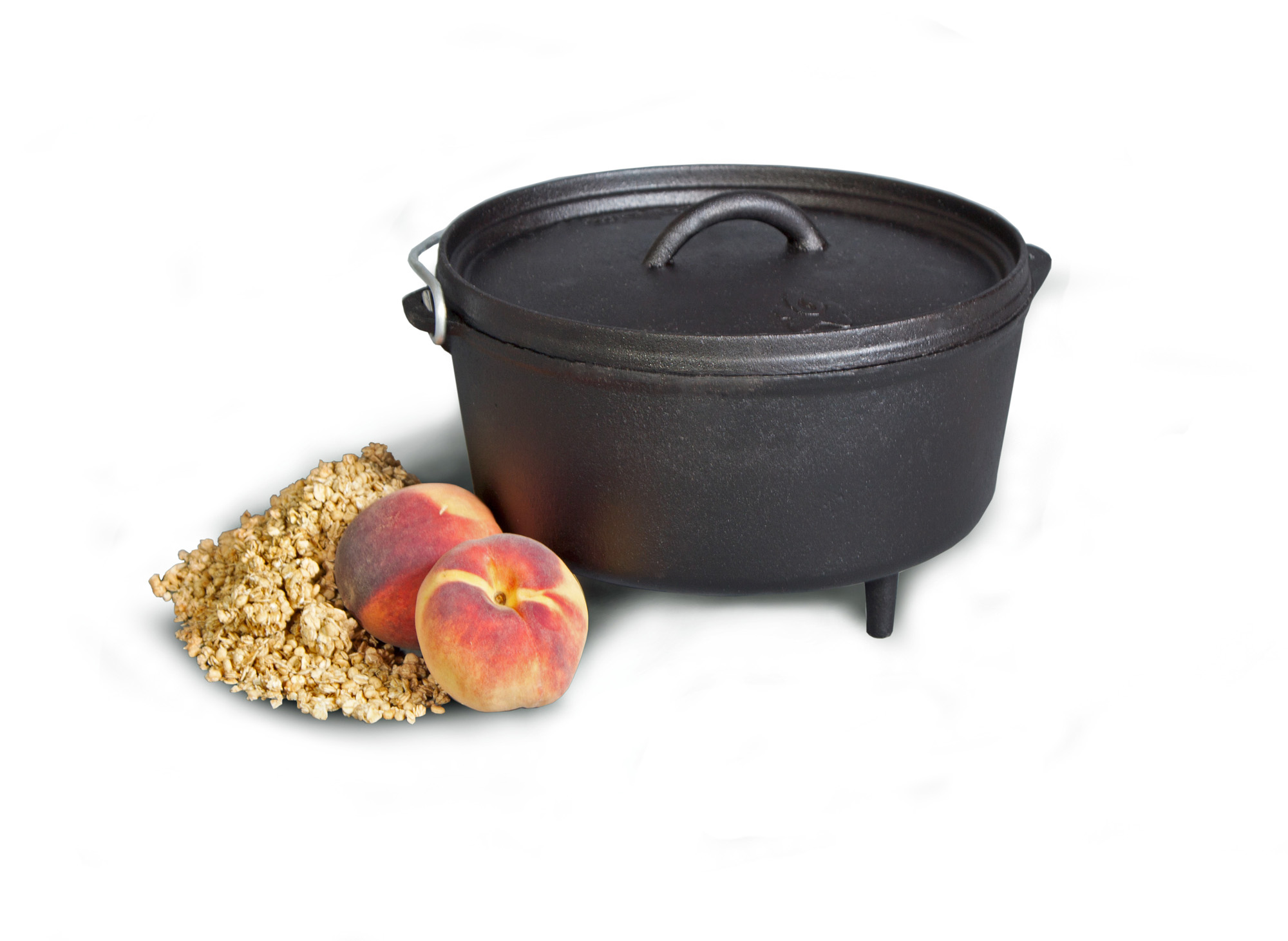 """Camp Chef 5 Quart 10"""" Classic Deep Dutch Oven by Logan Outdoor Products"""