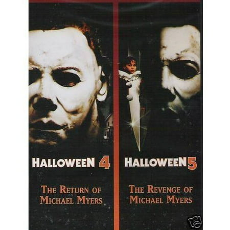Halloween 4: The Return Of Michael Myers / Halloween 5: The Revenge Of Michael Myers (Widescreen) - Diablesa Halloween