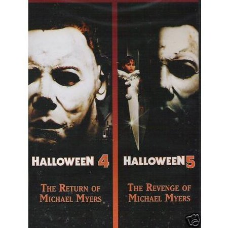 Halloween 4: The Return Of Michael Myers / Halloween 5: The Revenge Of Michael Myers (Widescreen) - Great Pg Halloween Movies