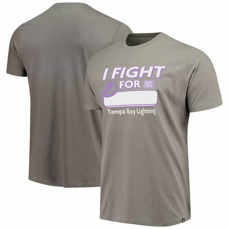 premium selection cb797 e5da9 Tampa Bay Lightning '47 Hockey Fights Cancer Flanker T-Shirt ...