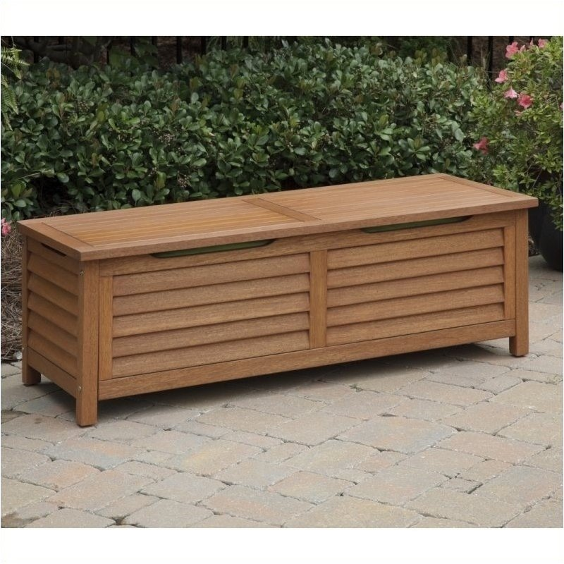 Bowery Hill Patio Deck Box in Eucalyptus by Bowery Hill