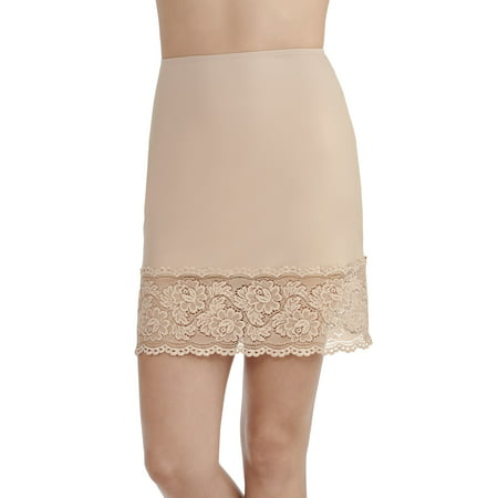 Lace Trim Half Slip (Women's Luxurious Lace Half Slip, Style 11047)