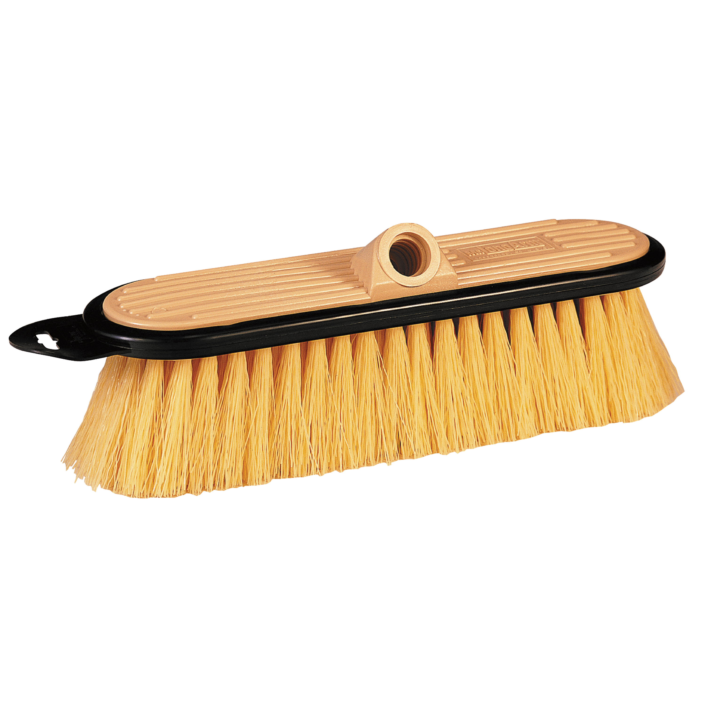 "Mr.LongArm 0406 Stiff Flow-Thru 10"" Chemical Resistant RV Cleaning Brush"