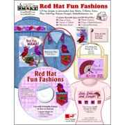 ScrapSMART Red Hat Fun Fashions CD-ROM: Fabric Designs, Embellishments and More