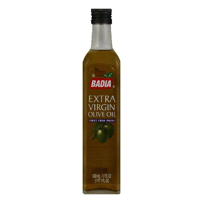 Badia Extra Virgin Olive Oil, 17 OZ (Pack of 12)
