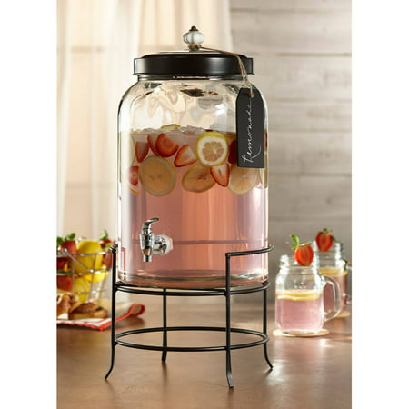 Style Setter Franklin, Beverage Dispenser, 3 Gal With Tag Stand And Ceramic Knob ()