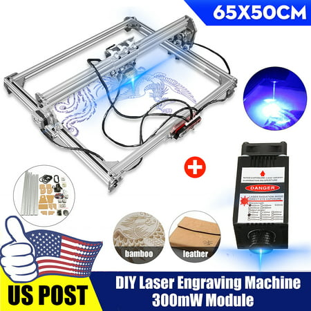 50x65CM 3000mW Laser Engraving Cutting Machine CNC Engraver Printer (Best Cnc Laser Cutting Machine)